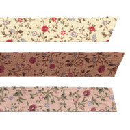 Fabric Tape : Minimums - Indian Pink