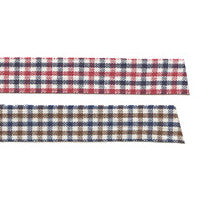 Fabric Tape : Gingham Check - Mix Red