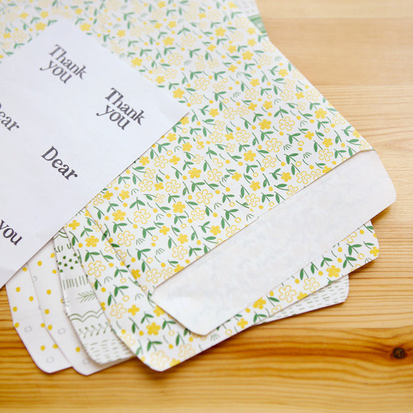 Gift Bag Envelopes : Petit - 6pk