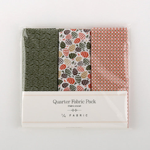 Quarter Fabric Pack : Pine