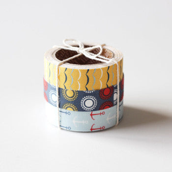 Fabric Tape 3pk : Sailing
