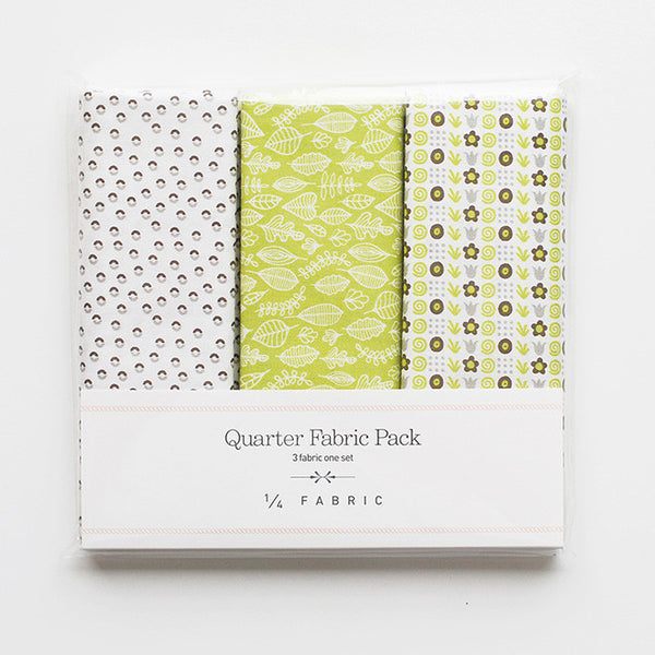 Quarter Fabric Pack : Seed