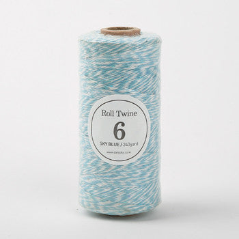 Thin Twine : Sky Blue - 240 yards
