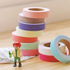 Fabric Tape : Solid - Neon Yellow Green