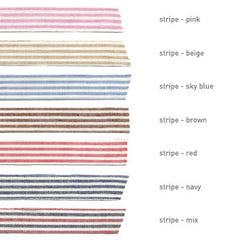 Fabric Tape : Stripe - Red