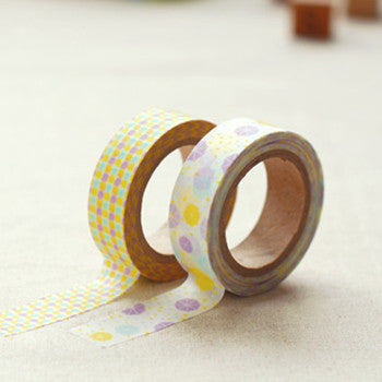 Washi Tape 2pk : Summer Rain