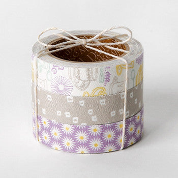 Fabric Tape 3pk : Tea Time