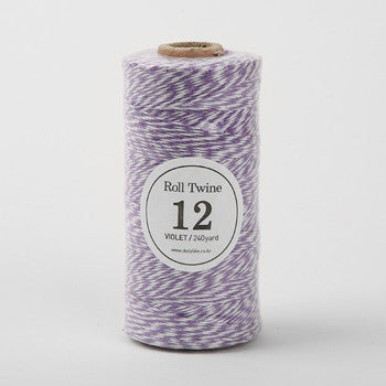 Thin Twine : Violet - 240 yards