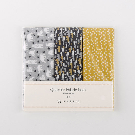 Quarter Fabric Pack : White Night