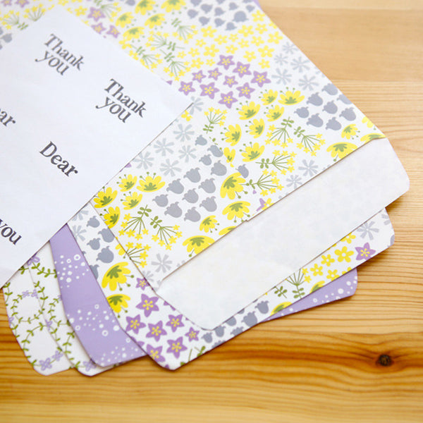 Gift Bag Envelopes : Wildflower - 6pk