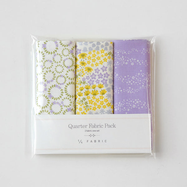 Quarter Fabric Pack : Wildflower