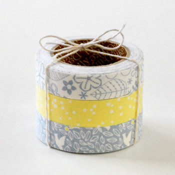 Fabric Tape 3pk : Winter Forest