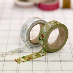 Washi Tape 2pk : Winter Green