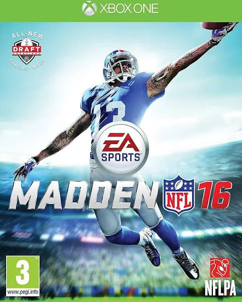 Madden NFL 16 [Xbox One Game]