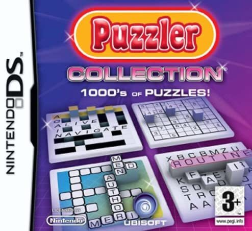 Driving theory test 2010 - Puzzler Collection - Brain training Nintendo DS game Bundle