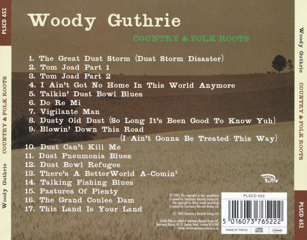 Woody Guthrie – Country & Folk Roots