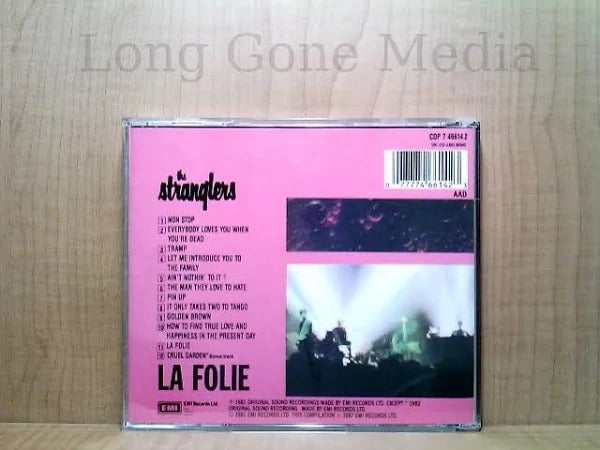 La Folie by The Stranglers (cd, LN/LN, 1987, EMI)