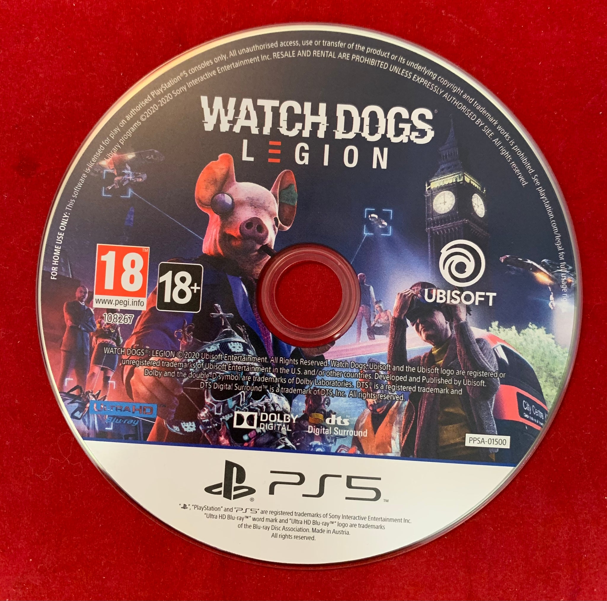 Watch Dogs Legion [PS5 Game] PlayStation 5
