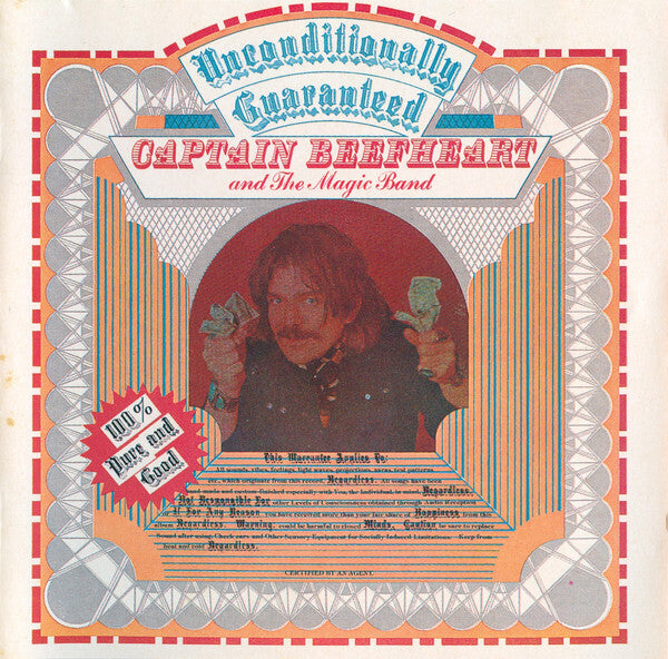 Captain Beefheart And The Magic Band ‎– Unconditionally Guaranteed
