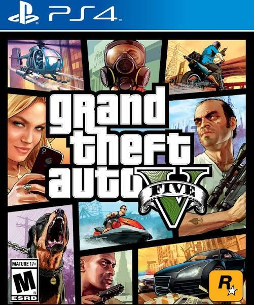 Grand Theft Auto V [PS4 Game]