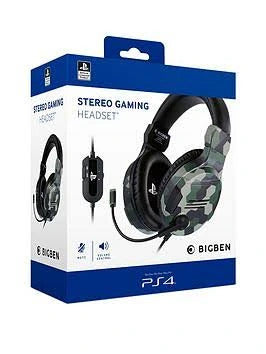 BIGBEN Stereo Gaming Headset - PS4/PS5 Camo