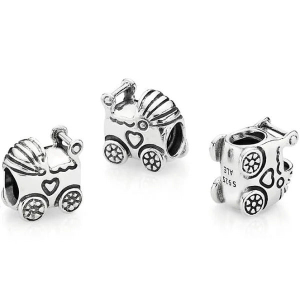 Pandora Baby Carriage Charm - 790346 Sterling Silver