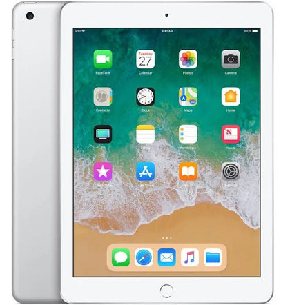 Apple 9.7-inch iPad 6th generation - Wi-Fi - 32 GB - Silver - 9.7