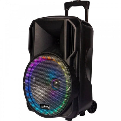 PARTY-12RGB Portable PA System with Lighting