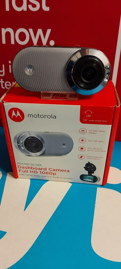 Motorolrola Dashcam MDC100 Full HD 1080 pixels White