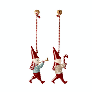 Set of 2 Pixy Ornaments