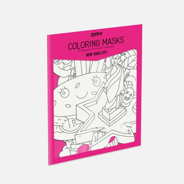 New York City - Coloring Masks