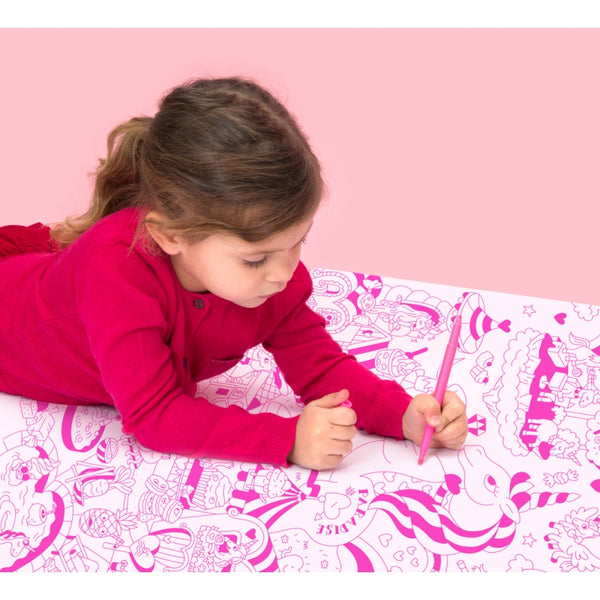 LILY Colouring Poster