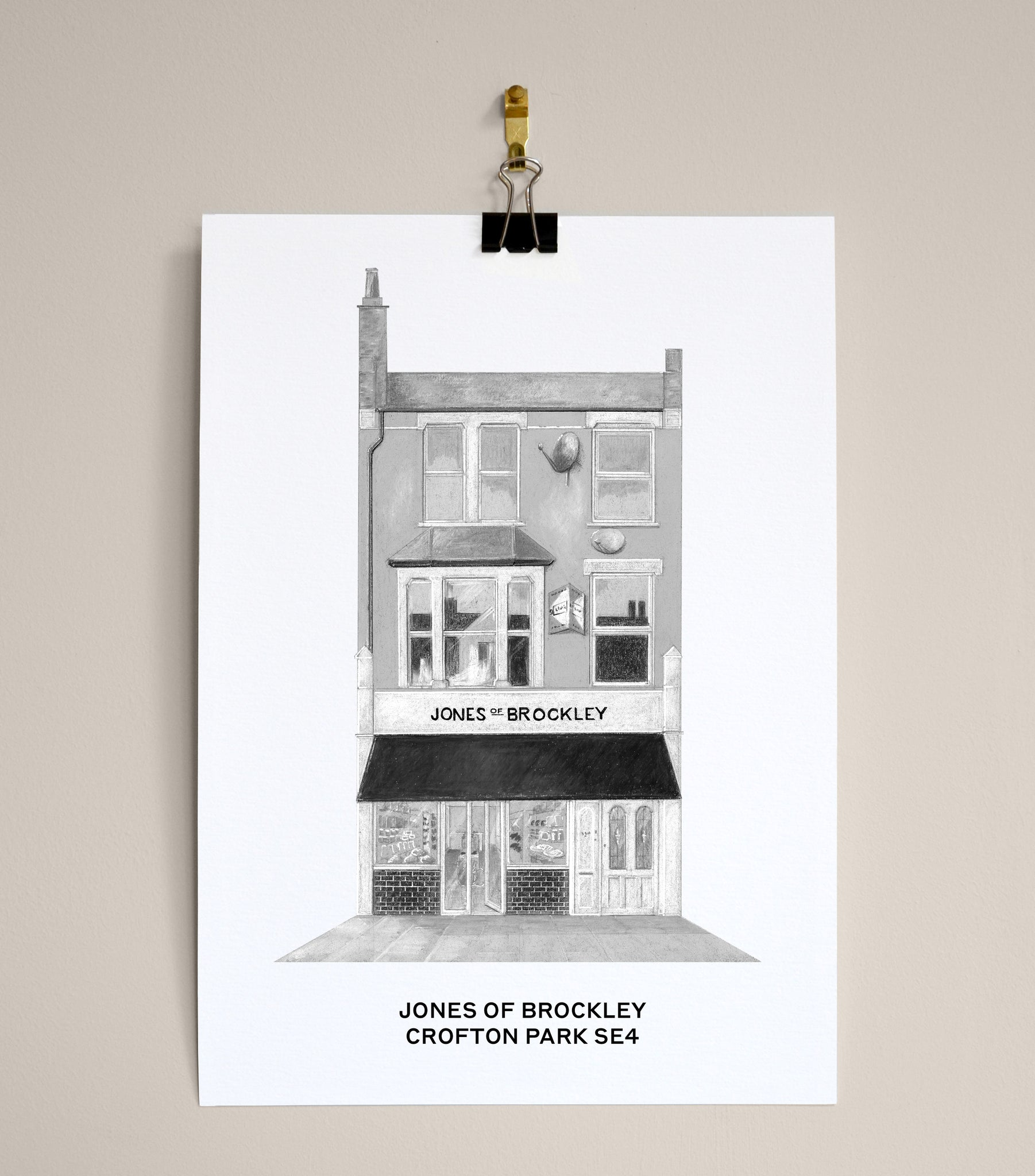JONES OF BROCKLEY, CROFTON PARK SE4