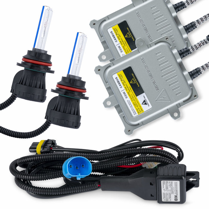 9007 Bi-Xenon Full Xenon HID 55 Watt Headlight Conversion Kit
