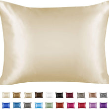 Load image into Gallery viewer, Satin Silk Pillow Case for Good Hair & Sleep -2pc
