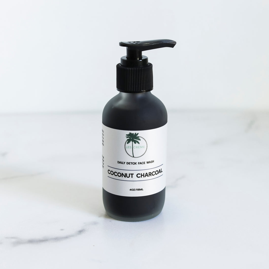 Organic Coconut Charcoal Face Wash