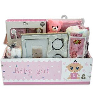New Arrival Gift Basket - Pink 1/cs