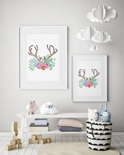 Load image into Gallery viewer, ANTLERS + FLORALS #1