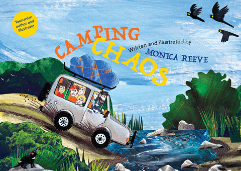 Camping Chaos written and illustrated by Monica Reeve | HB
