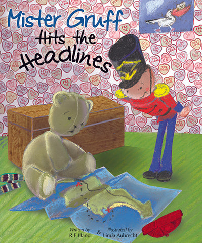 Mr Gruff hits the headlines by Robyn Hand | PB