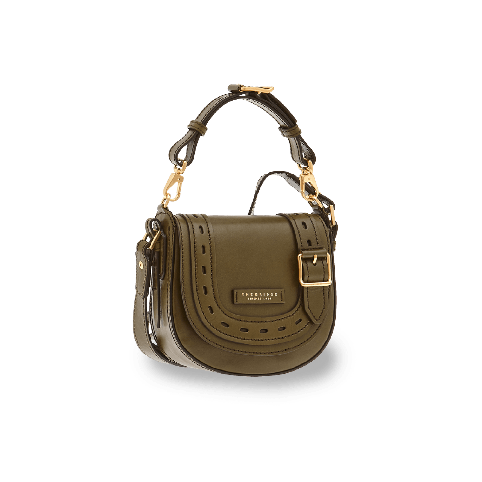 The Bridge Bags Calimala Handbag for Ladies in Green