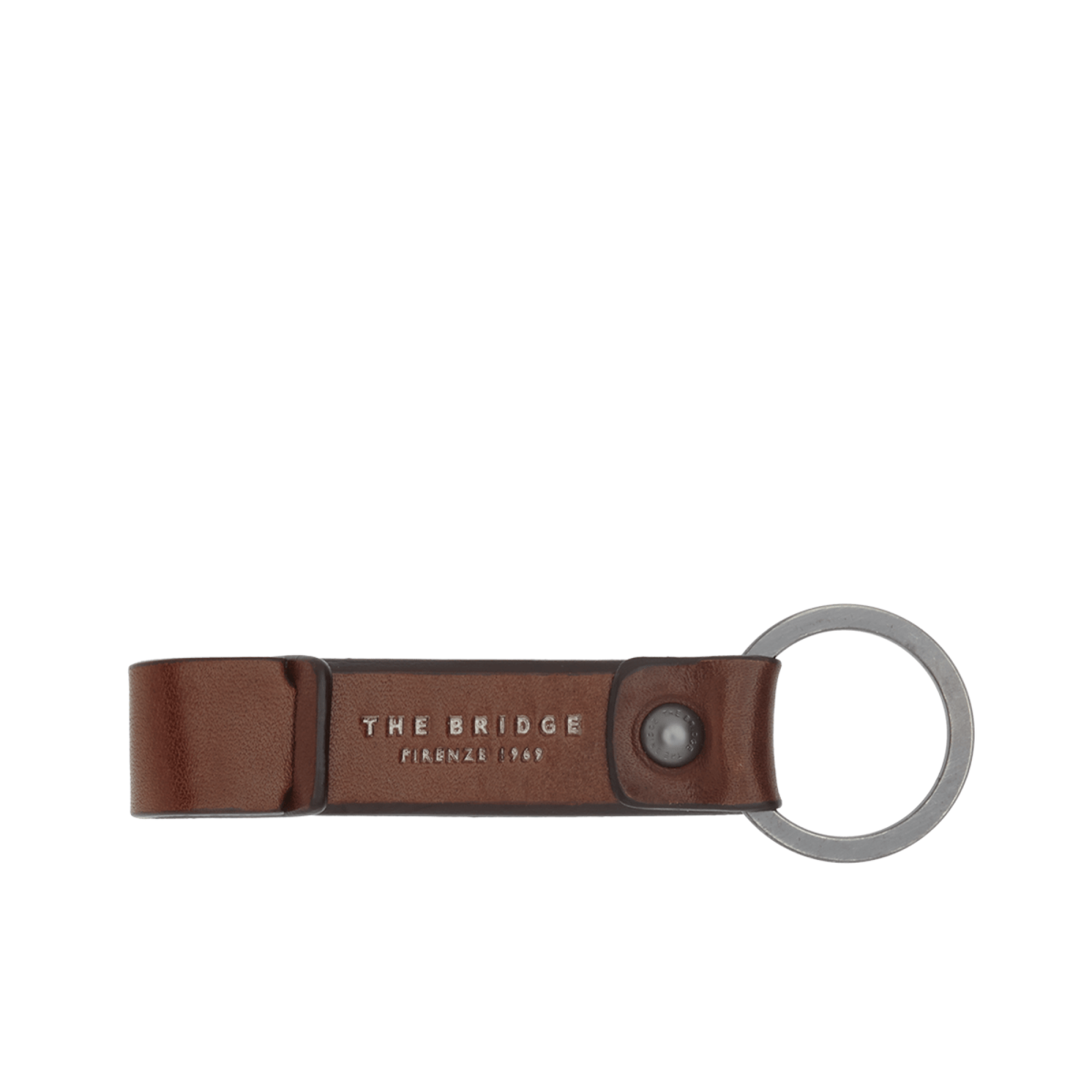 The Bridge Kallio Keyring in Brown