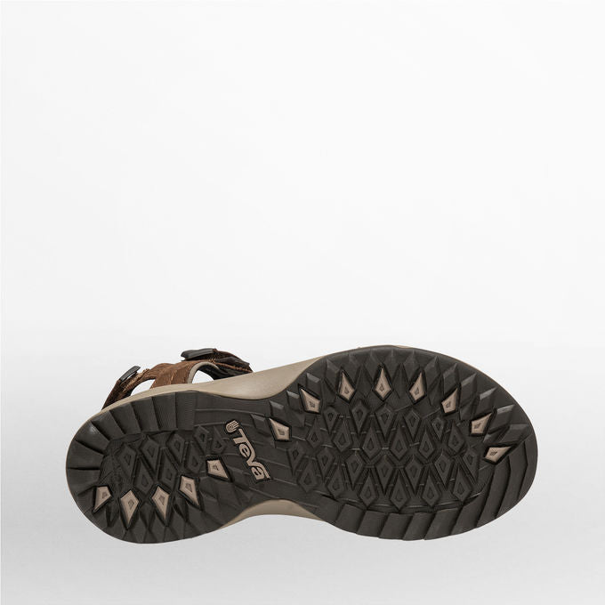 Teva Terra Fi Lite Leather Sandal for Ladies in Brown