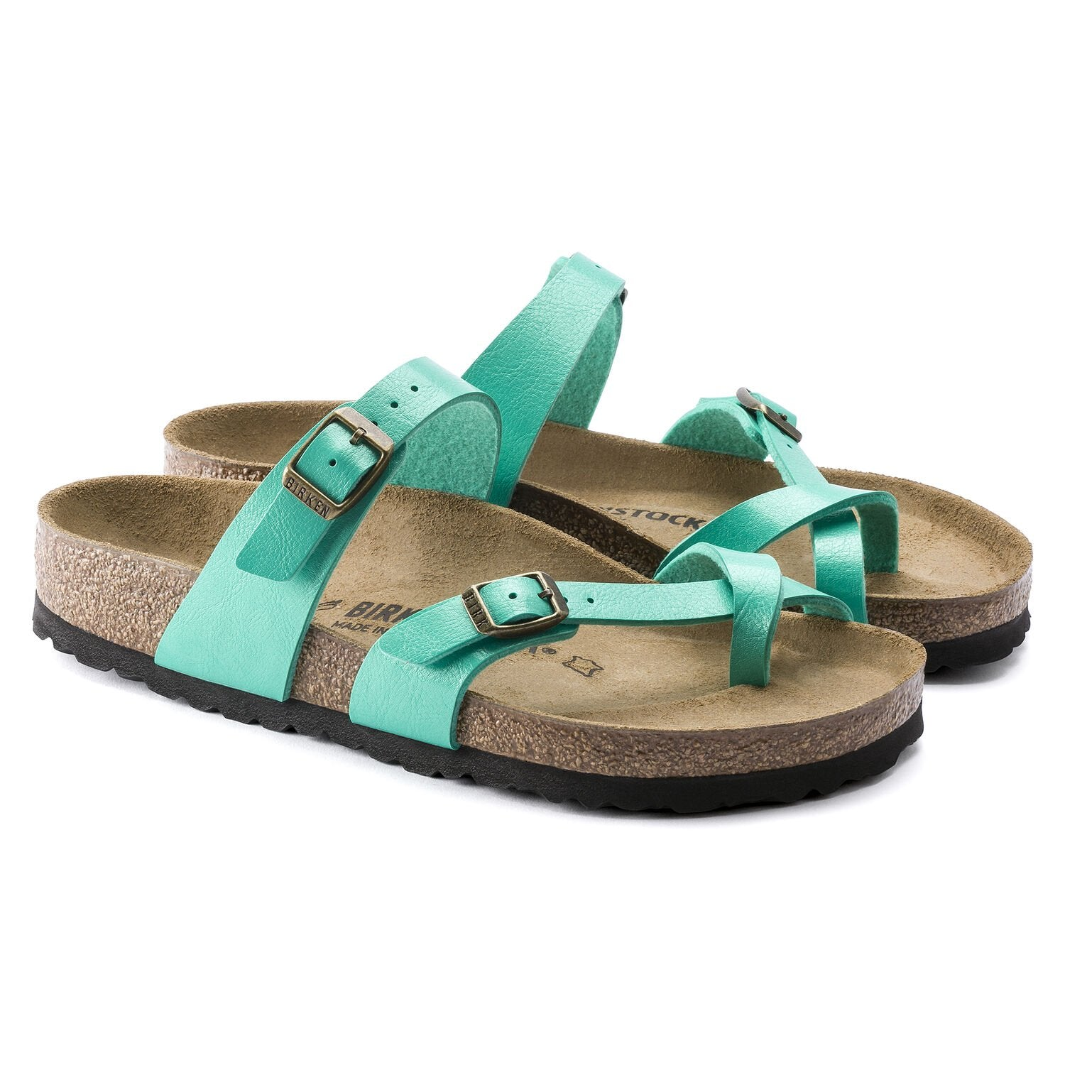 Birkenstock Mayari BF Graceful Sandal for Ladies in Emerald