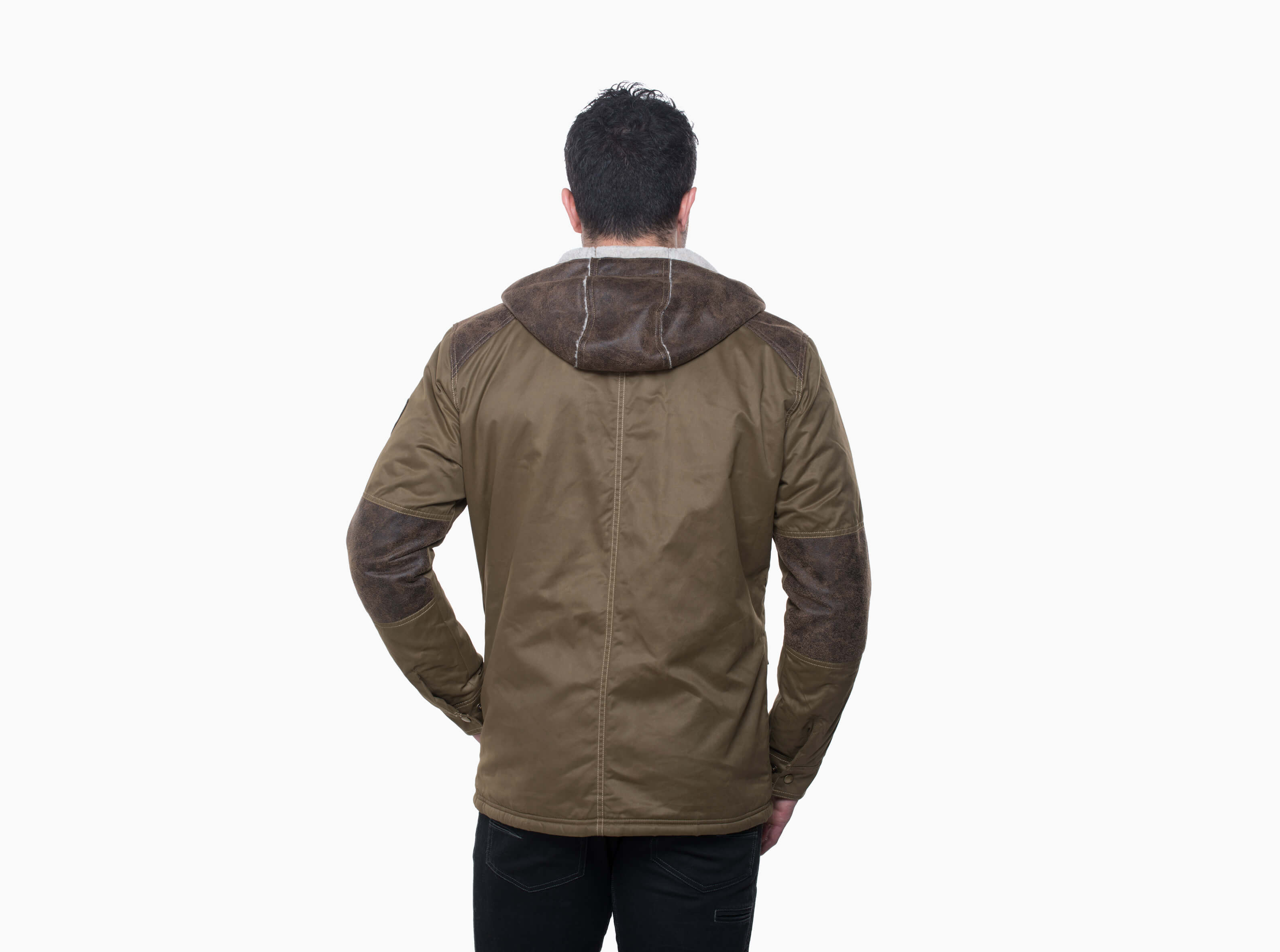 Kuhl Arktik Jacket for Men in Dark Khaki