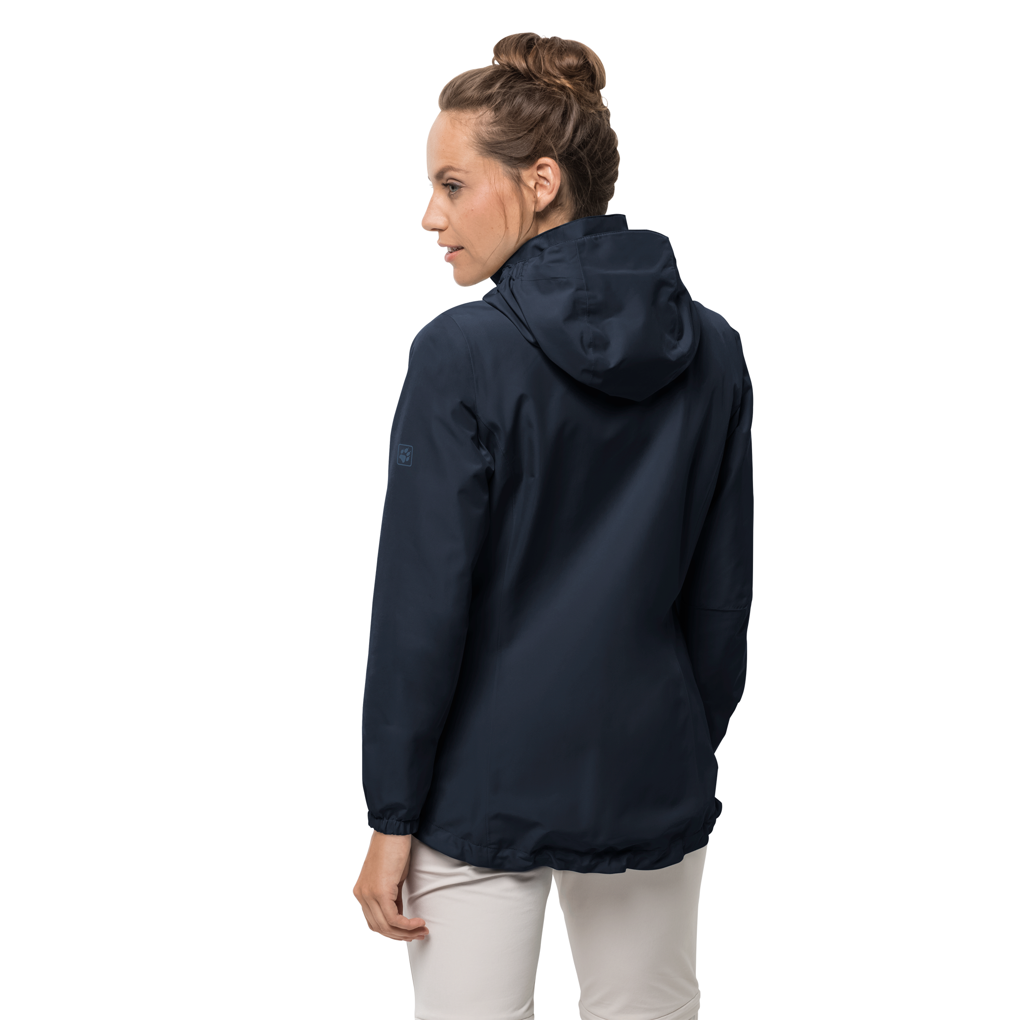 Jack Wolfskin Stormy Point Jacket for Ladies in Midnight Blue