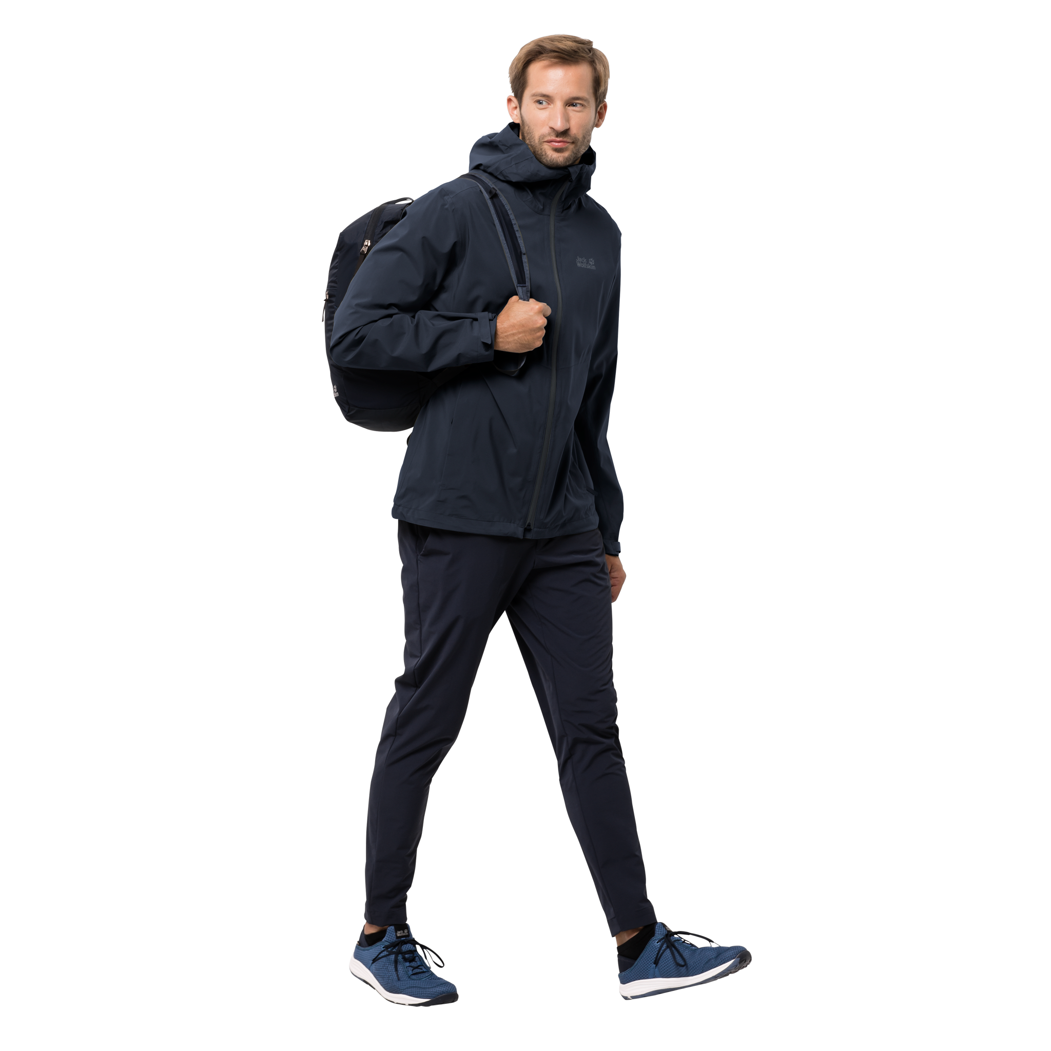 Jack Wolfskin JWP Shell for Men in Night Blue