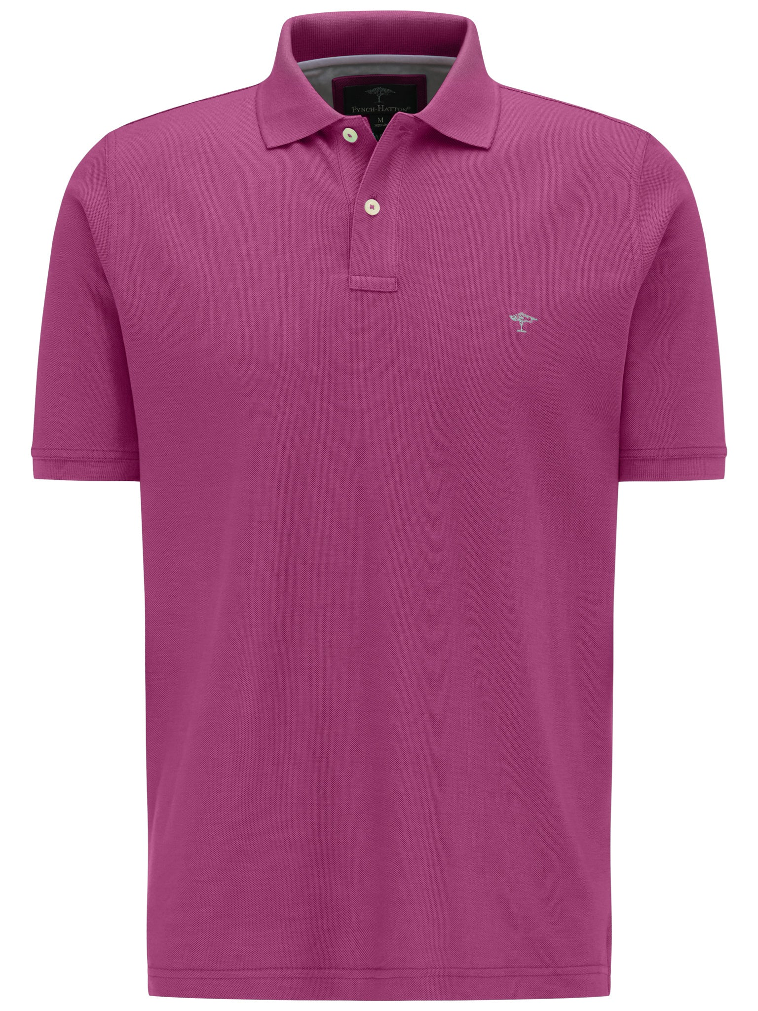 Fynch Hatton Basic Polo Top for Men in Blossom