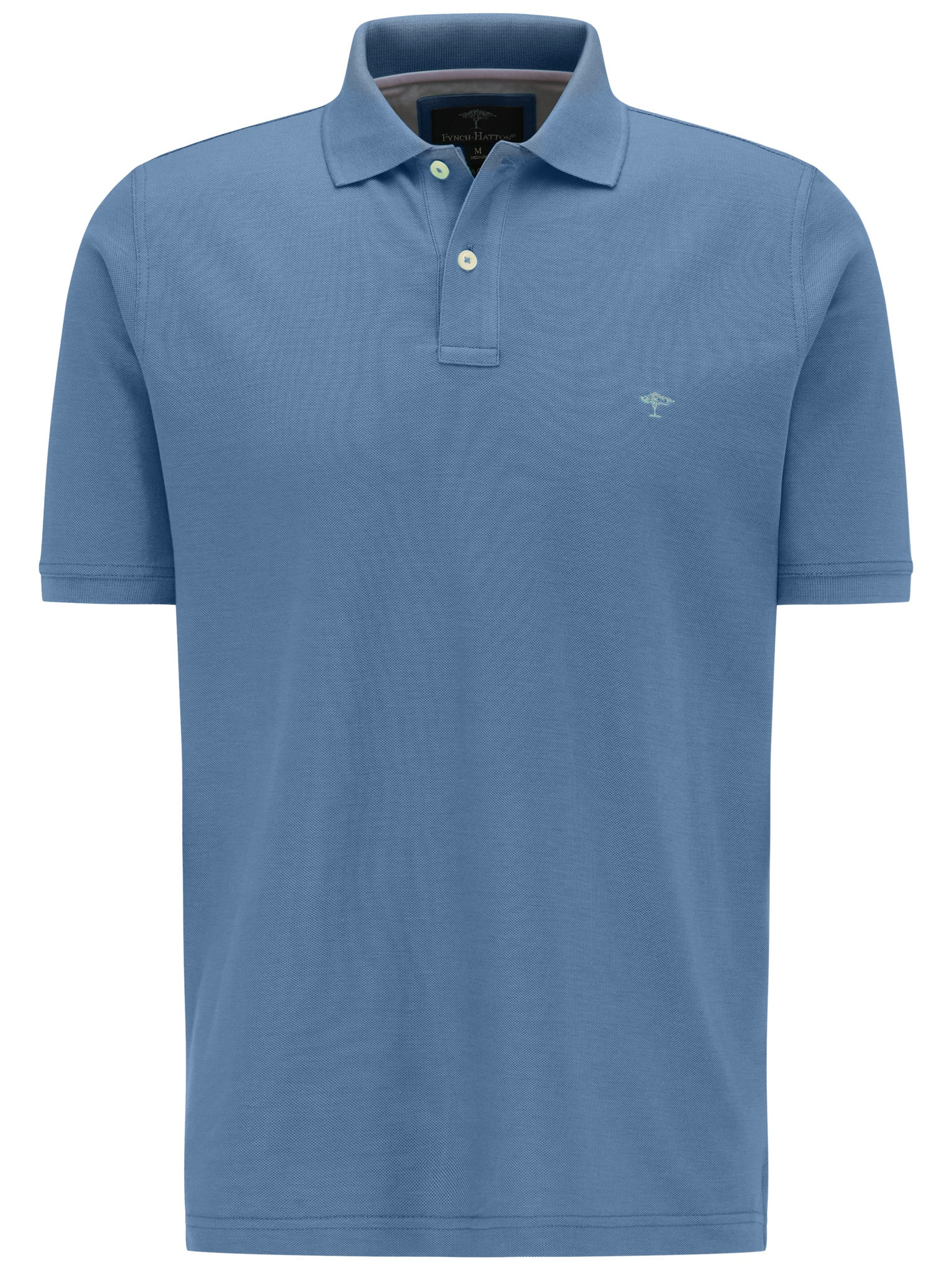 Fynch Hatton Basic Polo Top for Men in Pacific