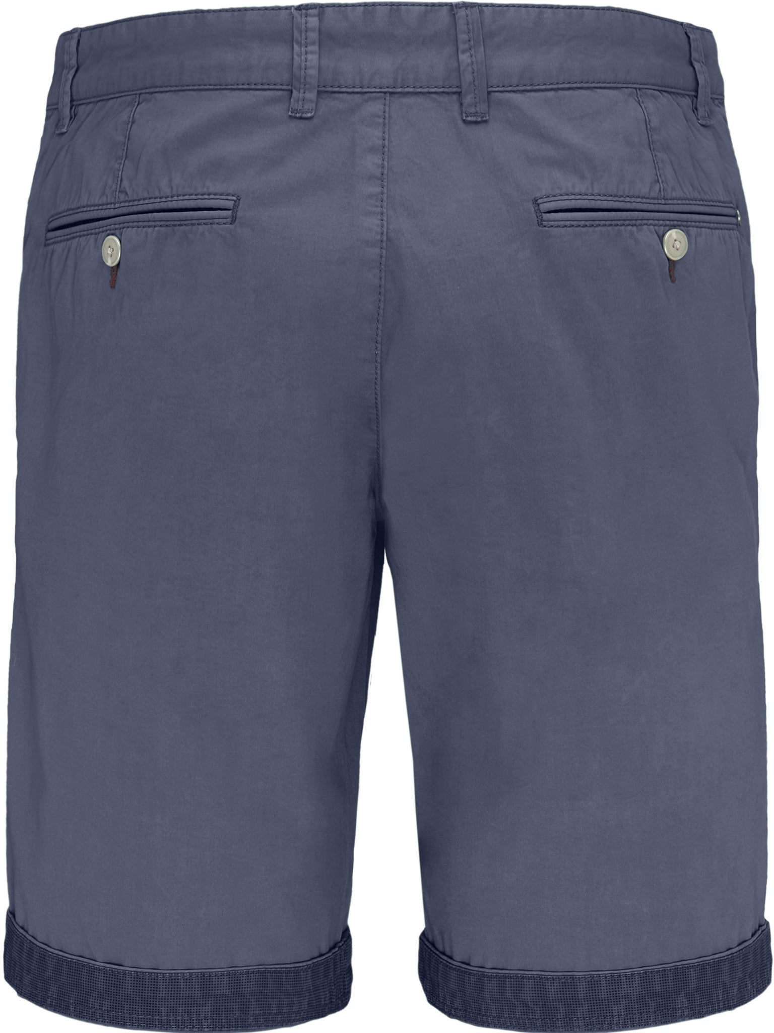 Fynch Hatton Garment Dyed Shorts for Men in Pacific